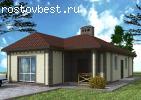Новый одноэтажный дом 100 кв. м
